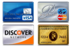 WE Accept Visa MasterCard Discover and American Express in 91101