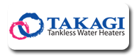 We Install Takagi Tankless Water Heaters in Pasadena CA